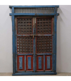 Grand Vieux Portail Bleu