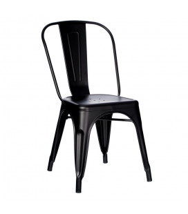 Lot de 4 Chaises Dallas Noir