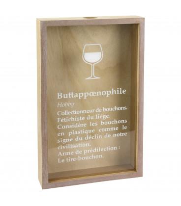 Cadre Bouchon Addict Buttappoenophile