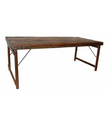Table A Manger Vieux Bois 200cm - 8 Personnes