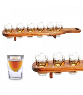 Set de 6 Verres Shooter + Support