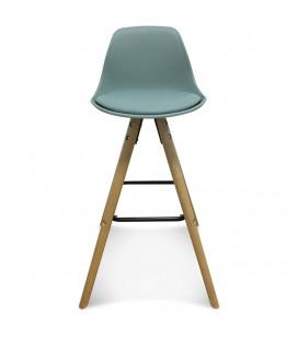 Lot de 2 Chaises De Bar / Plan de Travail Copenhague Vert Thym