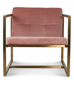 Fauteuil Dolce Rose