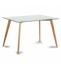 Table A Manger Verre Fiord 180cm