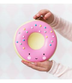 Tirelire Donut Rose