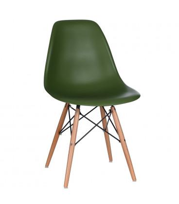 Chaise Vintage Premium Vert Foncé