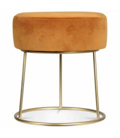 Tabouret Bas Hobby Moutarde