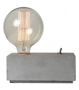 Lampe Béton Rectangulaire avec Ampoule