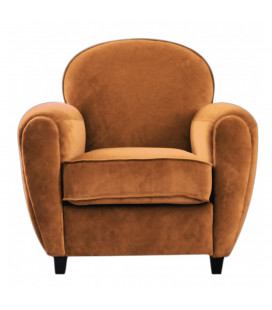 Fauteuil Club Moutarde