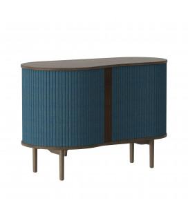 Cabinet Complet Audacious Bleu Pétrole Chêne Clair