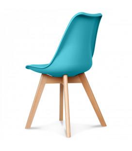 Chaise Copenhague Bleu Vif