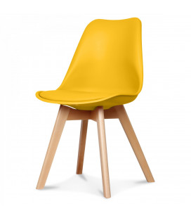 Chaise Copenhague Jaune