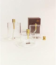 Set 3 Bougies Éternelles Cylindre + Paraffine + Entonnoir