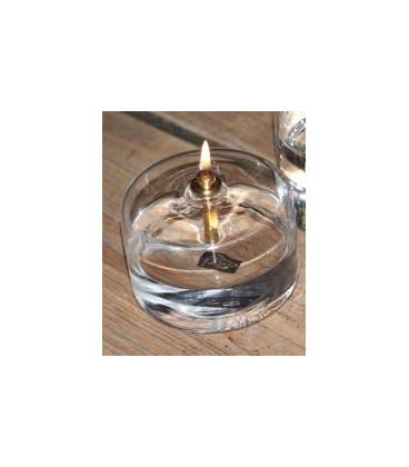 Bougie Éternelle Cylindre Laitonnée PM 5cm
