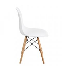Chaise Vintage Blanc