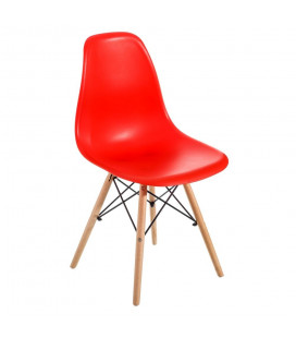 Chaise Vintage Rouge