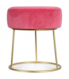 Tabouret Bas Hobby Rose Glamour