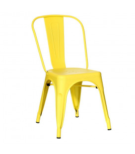 Lot de 4 Chaises Dallas Jaune