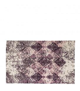 Petit Tapis Purple 100% Coton Purple L 90cm W 60cm
