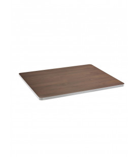 PLATEAU TABLE TOP SERAX PM NOIX BORD BLANC
