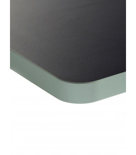 PLATEAU TABLE TOP SERAX PM NOIR BORD VERT