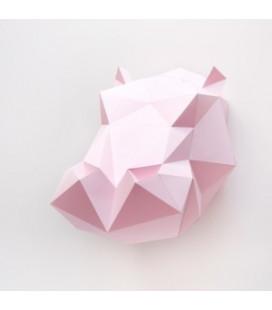 Hippopotame Rose DIY