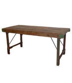 Table A Manger Vieux Bois 155cm