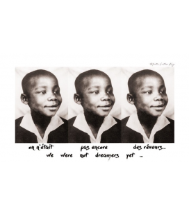 Affiche Martin Luther King [30/40cm]