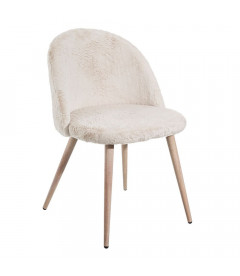 Chaise Cocooning Blanche