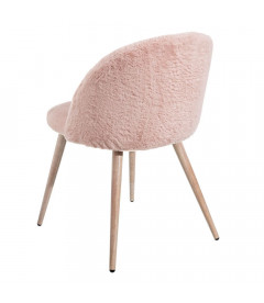 Chaise Doudou Rose