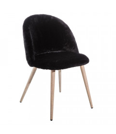 Chaise Cocooning Noire