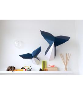 Queues de Baleine DIY