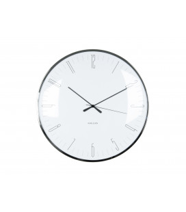 Horloge Silencieuse Karlsson Dragon Fly Blanc