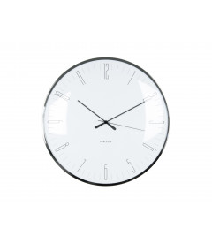 Horloge Silencieuse Karlsson Dragon Fly Blanc