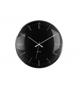 Horloge Silencieuse Karlsson Dragon Fly Noir