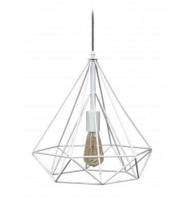 Lampe Suspendue Prism Blanc Mat