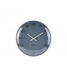 Horloge Karlsson Dome Elevated Bleu Pétrole