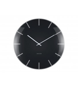 Horloge Karlsson Dôme Noire