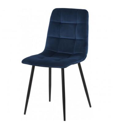 Chaise Manta Bleu Nuit