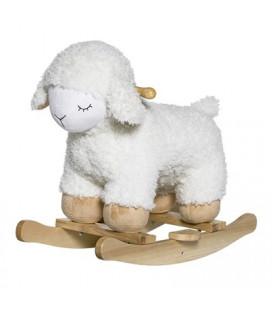 Mouton à Bascule Bloomingville - Blanc