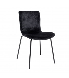 Chaise Bloom Black
