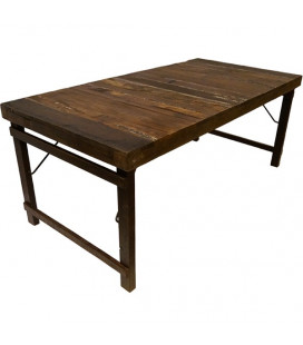 Table A Manger Vieux Bois 180cm