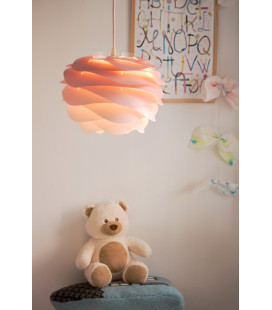 Suspension Carmina Mini Baby Rose Cordon Blanc