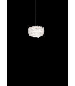 Suspension Eos Blanc Mini + Cordon Blanc