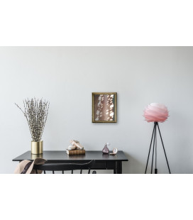 Lampadaire Carmina Mini Baby Rose - Tripod Lampadaire Noir