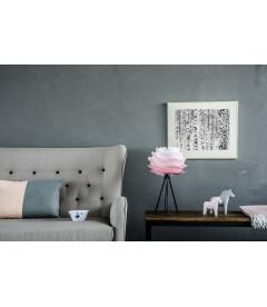 Lampe Carmina Mini Baby Rose - Tripod Table Noir