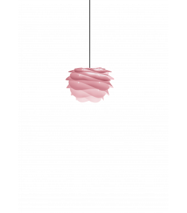 Suspension Carmina Mini Baby Rose Cordon Noir