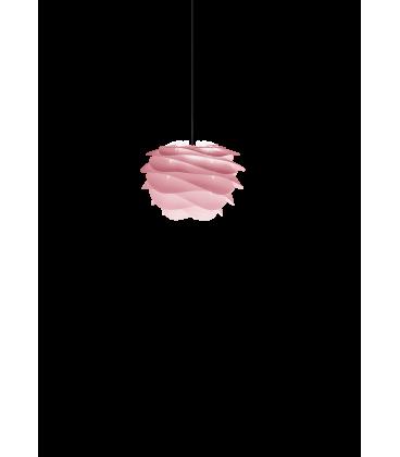 Suspension Carmina Mini Baby Rose Cordon Noir