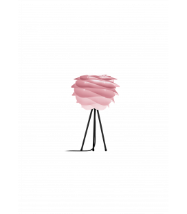 Lampe Carmina Mini Baby Rose - Tripod Table Noir