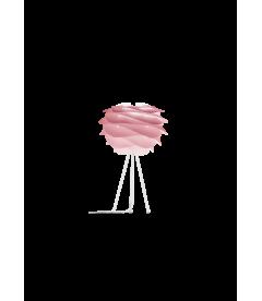 Lampe Carmina Mini Baby Rose - Tripod Table Blanc